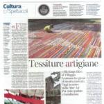 Il Corriere della Sera Tessiture Artigiane