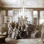Interno di Villa Moglia del 1870