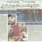 Luna Nuova L arte tessile rivive a Collegno
